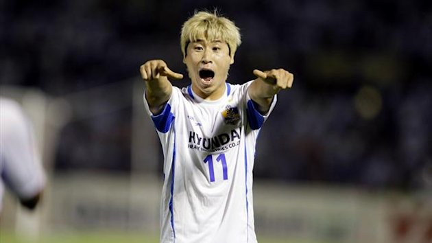 Lee Keun-ho of South Korea's Ulsan Hyundai (Reuters)