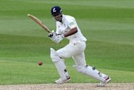 Varun Chopra made a mammoth 195 for Warwickshire in their LV= County Championship clash with Worcestershire