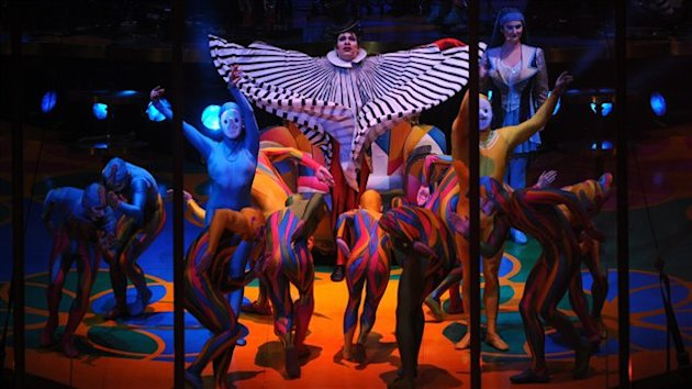 Le spectacle Saltimbanco, du Cirque du Soleil (archives)
