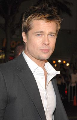Brad Pitt at the Los Angeles premiere of Paramount Classics' Babel