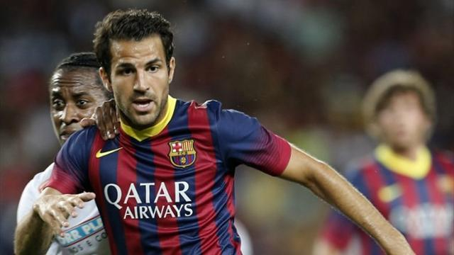 Liga - Martino: Fabregas can join United if he wants