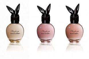 Playboy's new frgrances: Play it Lovely, Sexy, and Spicy