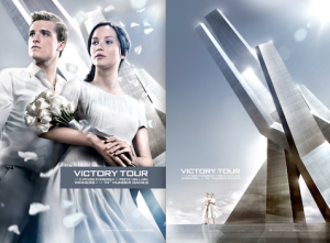 Jennifer Lawrence, Josh Hutcherson Prepare for 'Hunger Games' Victory Tour (Photos)