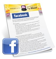 Hashtags, Replies and Links…Oh My! image facebook marketing tip sheet