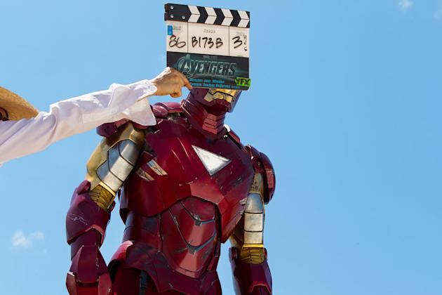 The Avengers Stills Behind the Scenes