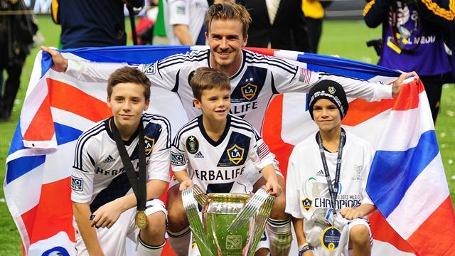 Ligue 1 - Beckham: Somehow my son's an Arsenal fan