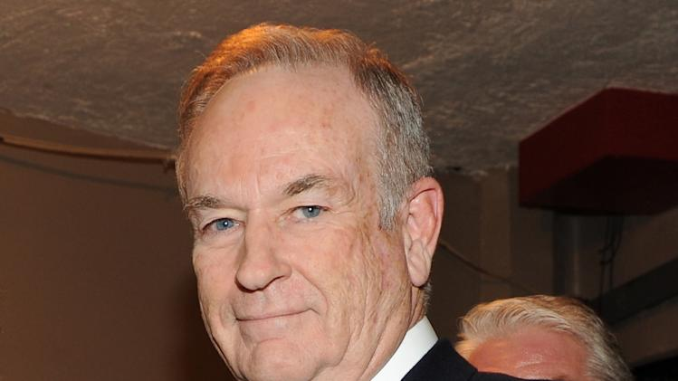 "FILE - This Oct. 13, 2012 file photo shows Fox News commentator and author Bill O'Reilly at the Comedy Central ""Night Of Too Many Stars: America Comes Together For Autism Programs"" at the Beacon Theatre in New York. O'Reilly says God told him to write his new book, ""Killing Jesus: A History."" The Fox News anchor explains in an interview on CBS' ""60 Minutes"" that one night he awoke with the title of the book in his head. He says he believes he got that message from the Holy Spirit. (Photo by Frank Micelotta/Invsion/AP, File)"