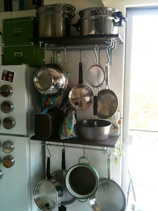 GRUNDTAL Shortened Pot Rack