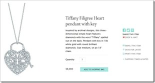 Four Valentine's Day Campaigns To Inspire Your Digital Marketing image Tiffany Heart Drop A Hint For Valentines Day