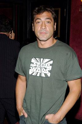 Javier Bardem at the New York premiere of Touchstone Pictures' King Arthur