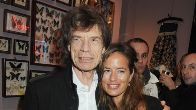 Mick and Jade Jagger attend the Jade Jagger shop opening party in London on November 25, 2009 -- Getty Premium