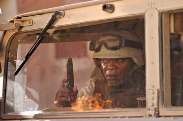 Samuel L. Jackson in MGM's Home of the Brave