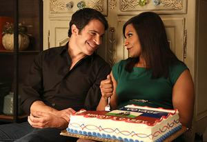 Chris Messina, Mindy Kaling | Photo Credits: Beth Dubber/FOX