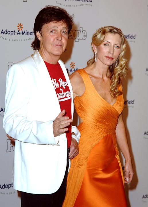 Sir Paul McCartney, Heather Mills
