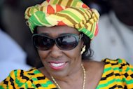File picture. Ghana's former first lady Nana Konadu Rawlings on December 15, 2010. She has failed to get her name on the ballot for this week's presidential polls, but has still managed to roil politics and spark endless guessing over her husband Jerry Rawlings' intentions.