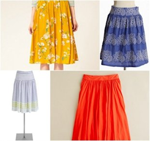 Skirting's the Issue: 5 Cute Skirts for Spring