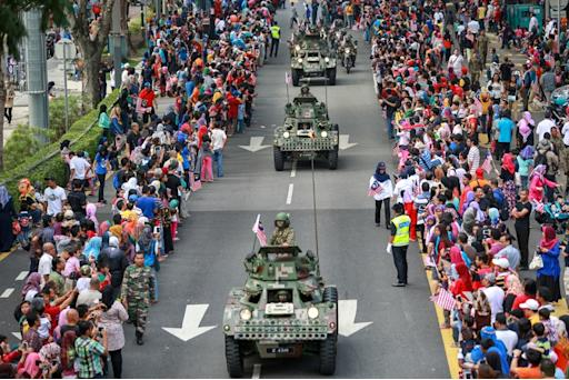 In Merdeka parade, a more steely Malaysia on display