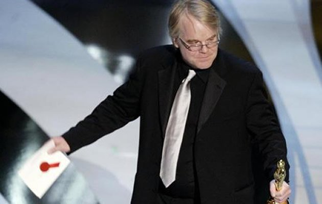Oscar-winning actor Philip Seymour Hoffman was found dead in his New York apartment of a suspected drug overdose on Sunday, law enforcement officials said. (AFP Photo)