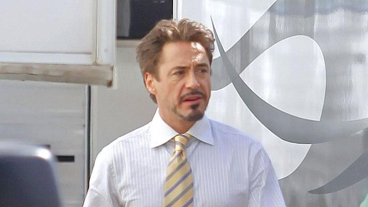 Downey Jr Robert Iron Man Set