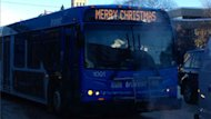 Members of Saskatoon city council will have to figure out what to do about displaying a Merry Christmas message on buses.