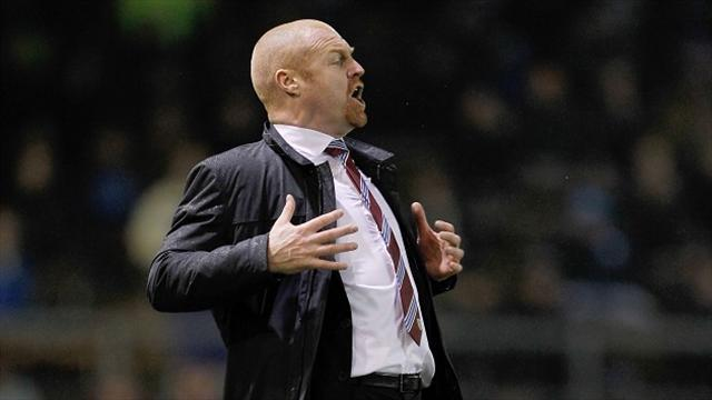 Football - Clarets delight Dyche with win