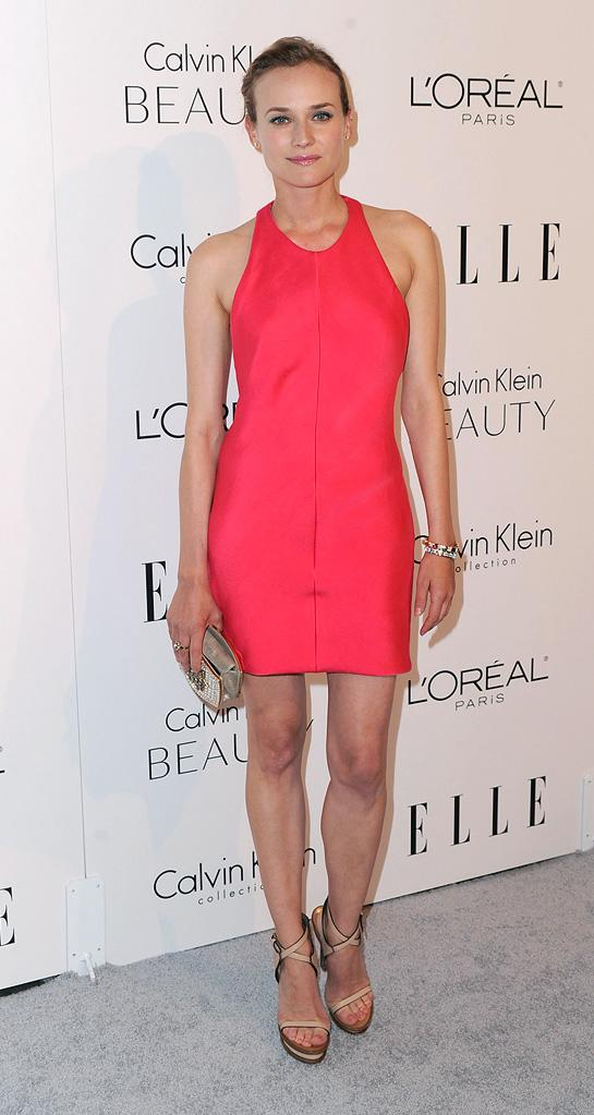 Elle's 17th annual Women in Hollywood Tribute 2010 Diane Kruger