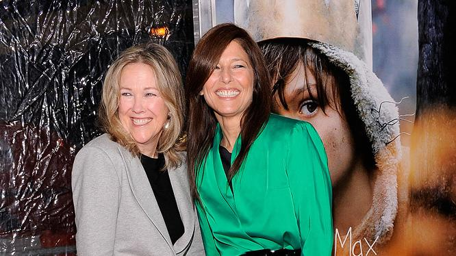 Where the wild things are NY premiere 2009 Catherine O'Hara Catherine Keener