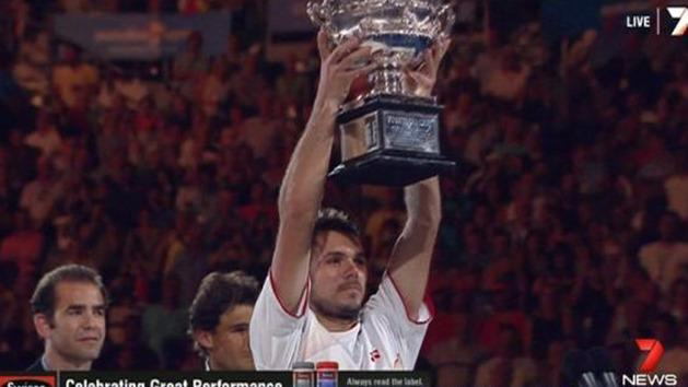 Wawrinka claims Australian Open crown