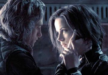 Scott Speedman and Kate Beckinsale in Screen Gems' Underworld: Evolution