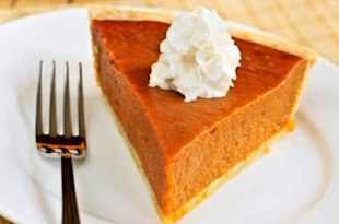 Men are attracted to the smell of pumpkin pie. Photo by Thinkstock