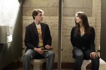Anton Yelchin and Kat Dennings in MGM's Charlie Bartlett