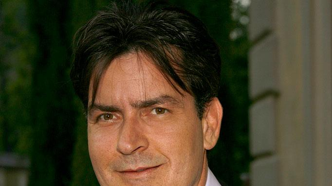 Charlie Sheen at the Chrysalis's 5th Annual Butterfly Ball.