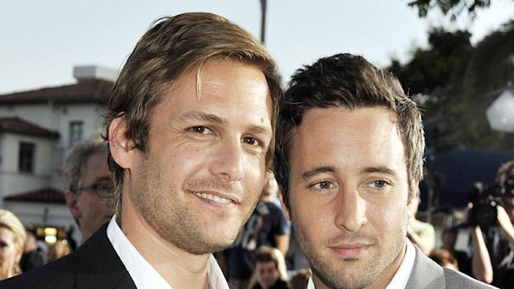 Whiteout LA Premiere 2009 Gabriel Macht Alex O'Loughlin