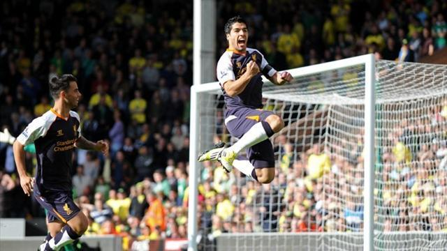 Suarez strike wins Goal of the Week