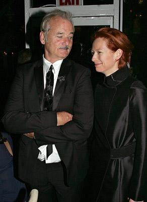 Bill Murray and Tilda Swinton at the New York Film Festival premiere of Fox Searchlight's The Darjeeling Limited