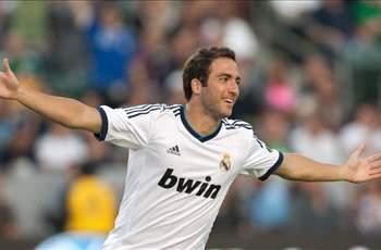 Report: Real Madrid in talks with Higuain over improved deal until 2018