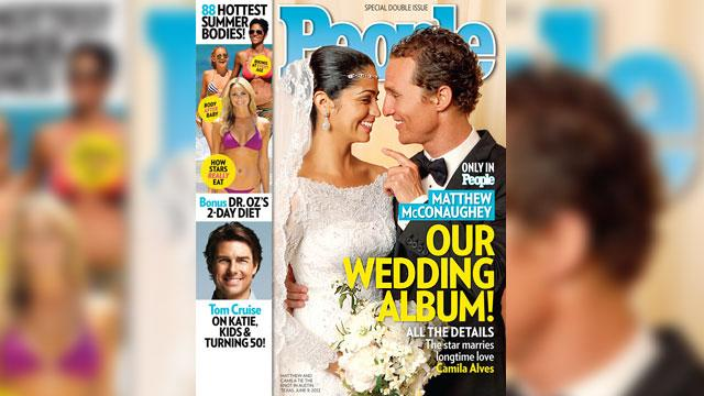 Matthew McConaughey Wedding Photo Revealed