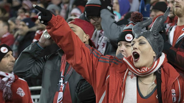 The atmosphere was raucous for TFC's 2-0 victory over the weekend, with parts of the stadium literally swaying as a result.