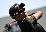 Thongchai Jaidee of Thailand during the BMW PGA Championship in May. He said he could not pass up the opportunity of equalling countryman Thaworn Wiratchant's record of 14 wins on the circuit with a victory this week at the Higashi Hirono Golf Club, in Hyogo