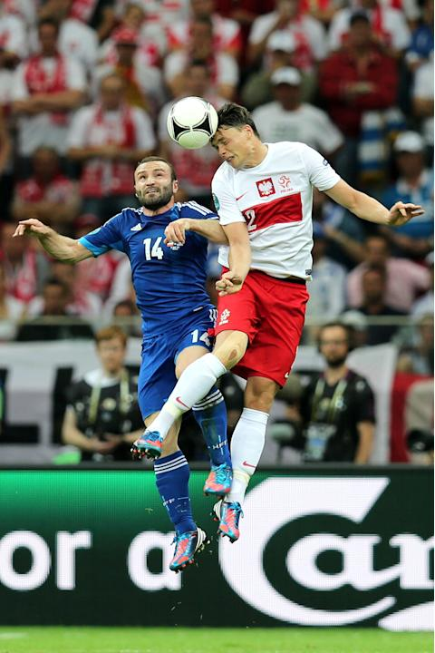 Poland v Greece - Group A: UEFA EURO 2012
