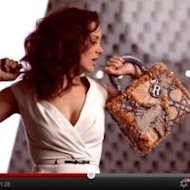 Marion Cotillard and her Lady Dior handbag in the teaser for Dior's new campaign