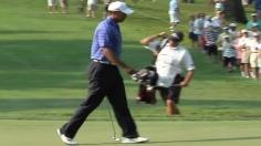 Woods pars No. 12 in Round 2 of AT&T National