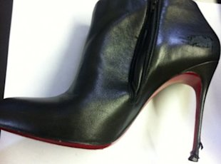 $900 Louboutins aren't necessarily made to last. Photo courtesy of the Gloss