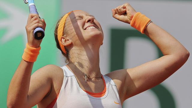 French Open - Azarenka beats Kirilenko
