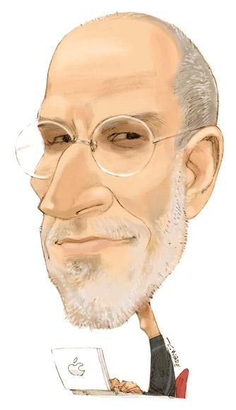 CARICATURE: Steve Jobs