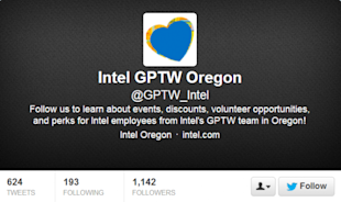 How to be Successful Using Twitter for Internal Communications image gptw intel 600x357