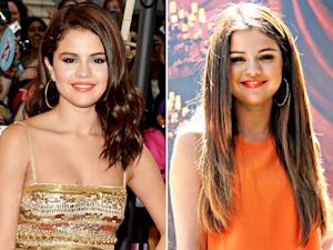 Selena Gomez Gets Super-Long Hair Extensions