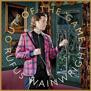 "In this CD cover image released by Decca, the latest release by Rufus Wainwright, ""Out of the Game,"" is shown. (AP Photo/Decca)"