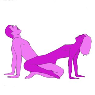 Sex position of the day: Star watcher
