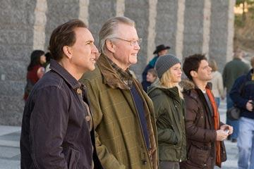 Nicolas Cage , Jon Voight , Diane Kruger and Justin Bartha in Walt Disney Pictures' National Treasure: Book of Secrets